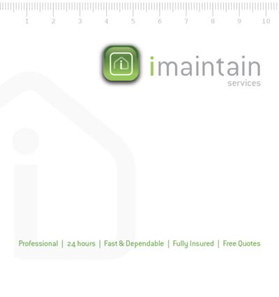 imaintain maintenance handyman corporate identity
