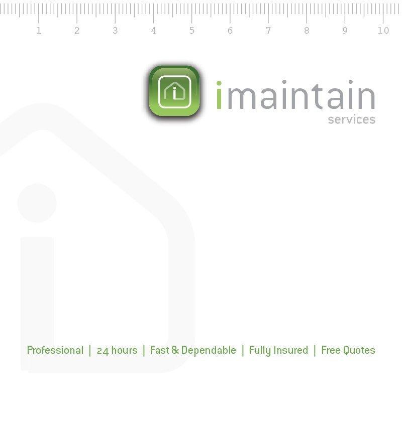 imaintain maintenance handyman corporate identity