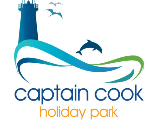 Captain Cook Holiday Park – Logo Design
